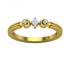 Natural Diamond Ring 0.09 CT / 2.50 gm Gold