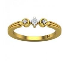 Diamond Ring 0.09 CT / 2.50 gm Gold