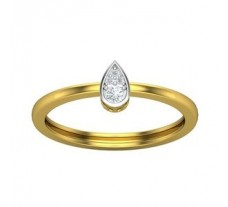 Natural Diamond Ring 0.069 CT / 1.94gm Gold