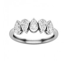 Natural Diamond Ring 0.35 CT / 2.65gm Gold