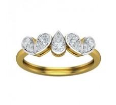 Natural Diamond Ring 0.35 CT / 2.65gm Gold