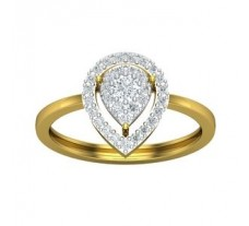 Natural Diamond Ring 0.37 CT / 2.54gm Gold