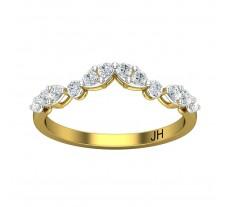 Natural Diamond Ring 0.36 CT / 1.89gm Gold