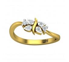 Natural Diamond Ring 0.16 CT / 2.90gm Gold
