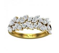 Natural Diamond Band  0.90 CT / 3.67 gm Gold