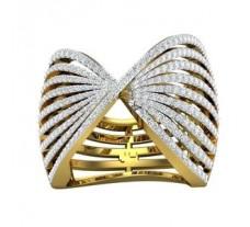 Natural Diamond Ring 1.60 CT / 17.00 gm Gold