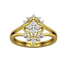 Natural Diamond Ring 0.38 CT / 3.56 gm Gold
