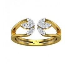 Natural Diamond Ring 0.28 CT / 3.15 gm Gold