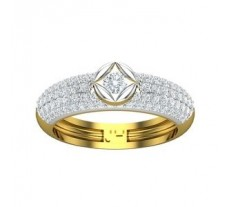 Natural Diamond Ring 0.88 CT / 4.38 gm Gold