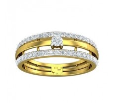 Natural Diamond Ring 0.50 CT / 3.49 gm Gold