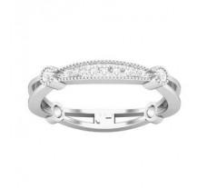 Natural Diamond Ring 0.13 CT / 2.21 gm Gold