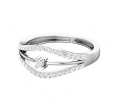 Natural Diamond Ring 0.31 CT / 2.70 gm Gold