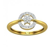 Natural Diamond Ring 0.26 CT / 2.49 gm Gold