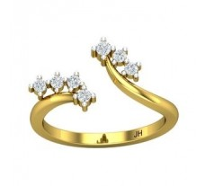 Natural Diamond Ring 0.22 CT / 2.50 gm Gold