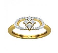 Natural Diamond Ring 0.30 CT / 2.68 gm Gold