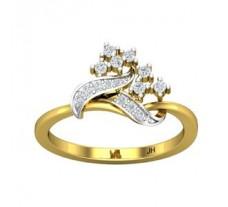 Natural Diamond Ring 0.21 CT / 2.64 gm Gold