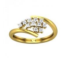Natural Diamond Ring 0.25 CT / 2.55 gm Gold