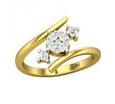 Diamond Ring 0.32 CT / 3.72 gm Gold