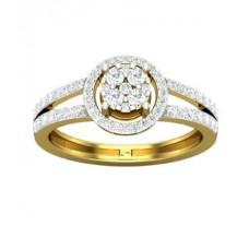 Natural Diamond Ring 0.57 CT / 3.10 gm Gold