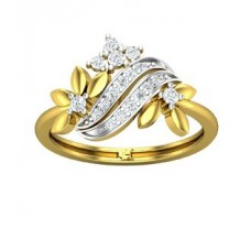 Natural Diamond Ring 0.28 CT / 3.08 gm Gold