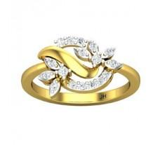 Natural Diamond Ring 0.27 CT / 3.20 gm Gold