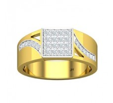 Natural Diamond Ring for Men 0.58 CT / 8.69 gm Gold