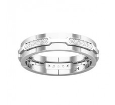 Natural Diamond Ring for Men 0.37 CT / 6.00 gm Gold