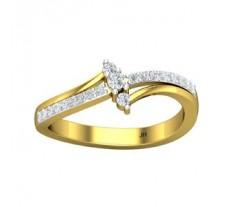Natural Diamond Ring 0.26 CT / 3.10 gm Gold