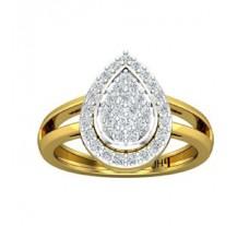 Natural Diamond Ring 0.61 CT / 3.00 gm Gold
