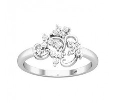 Natural Diamond Ring 0.31 CT / 2.90 gm Gold
