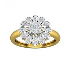 Natural Diamond Ring 0.48 CT / 4.00 gm Gold