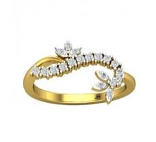 Natural Diamond Ring 0.23 CT / 2.60 gm Gold