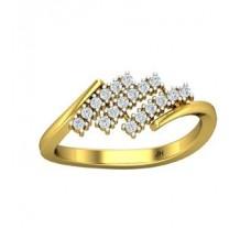 Natural Diamond Ring 0.21 CT / 2.80 gm Gold