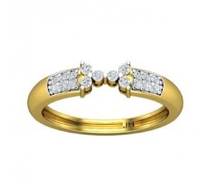 Natural Diamond Ring 0.24 CT / 3.35 gm Gold