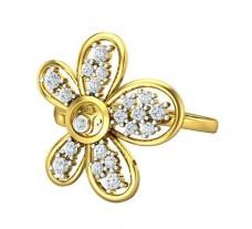 Natural Diamond Ring 0.53 CT / 4.25 gm Gold