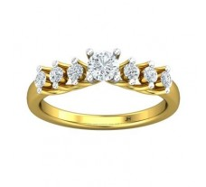 PreSet Natural Solitaire Diamond Ring 0.60 CT / 2.97 gm Gold