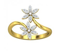 Natural Diamond Ring  0.24 CT / 2.55 gm Gold