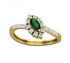 Natural Diamond & Gemstone Ring 0.61 CT / 2.85 gm Gold