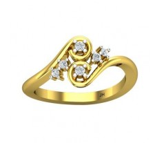 Natural Diamond Ring 0.14 CT / 3.20 gm Gold
