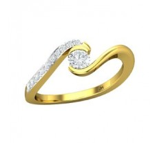 Natural Diamond Ring 0.42 CT / 3.00 gm Gold