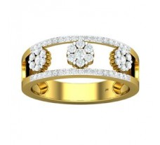 Natural Diamond Band 0.45 CT / 3.70 gm Gold
