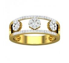 Natural Diamond Band 0.45 CT / 3.70 gm Gold