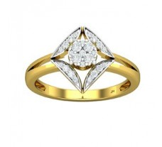 Natural Diamond Ring 0.25 CT / 3.50 gm Gold