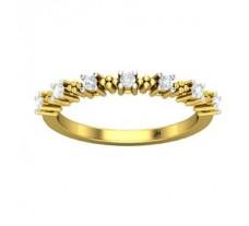 Natural Diamond Ring 0.21 CT / 2.29 gm Gold