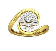 Natural Diamond Ring 0.31 CT / 3.10 gm Gold