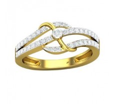Natural Diamond Ring 0.39 CT / 3.16 gm Gold