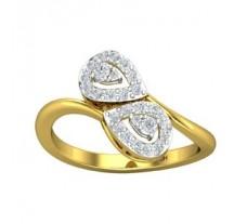 Natural Diamond Ring 0.33 CT / 3.09 gm Gold