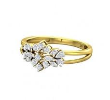 Diamond Ring 0.29 CT / 2.70 gm Gold