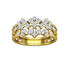 Natural Diamond Band 0.39 CT / 3.90 gm Gold