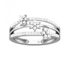 Natural Diamond Ring 0.40 CT / 3.30 gm Gold